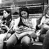 barcelona, straatfotografie, street photography, metro, mobieltjes, passagiers