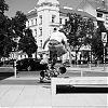 skater, straat fotografie, street photography, Wenen, z/w-fotografie