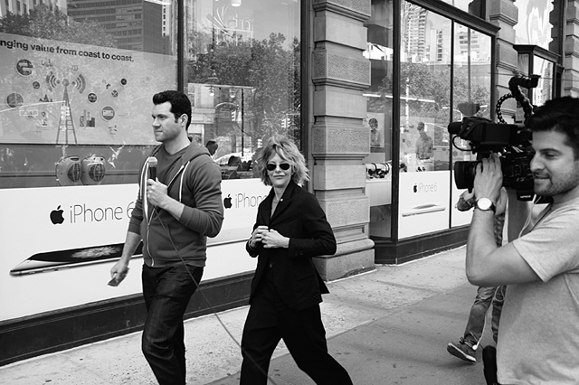 straatfotografie, streetphotography,  New York, Meg Ryan