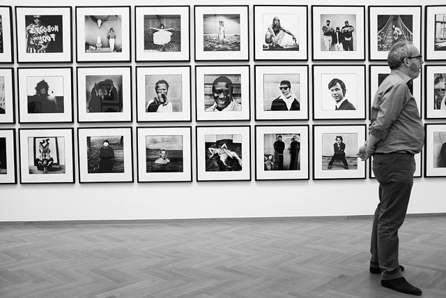 Expositie, Anton Corbijn, Den Haag, Gemeentemuseum, Fotomuseum, Hollands Deep, 1-2-3-4