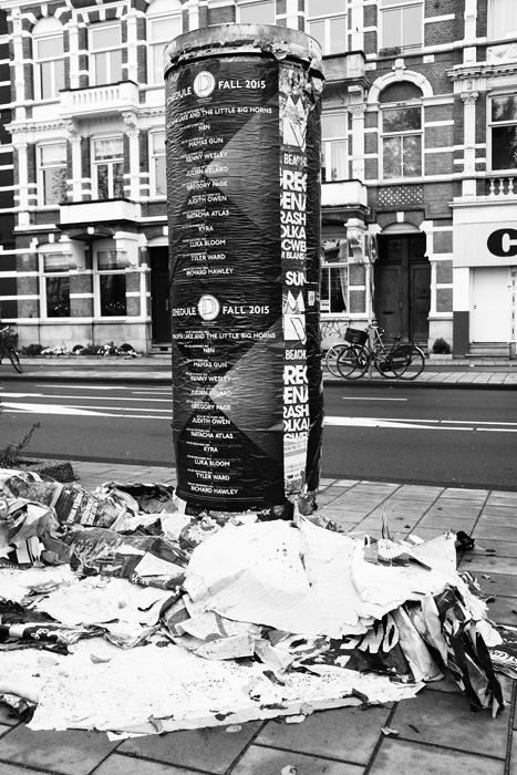 straatbeeld, reclamezuil, straatfotografie, amsteldijk