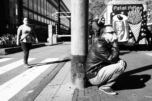 straatfotografie, Amsterdam, Waterlooplein, streetphotography