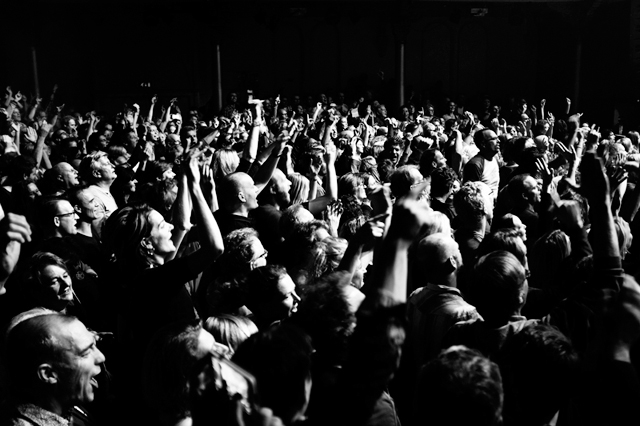de dijk, paradiso, publiek