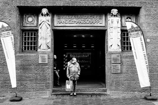 straatfotografie, Amsterdam, Vijzelstraat, streetphotography, de bazel
