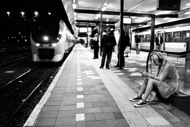 Alkmaar, treinstation