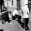 straatfotografie, Barcelona, Gracia, Placa del Sol, street photography