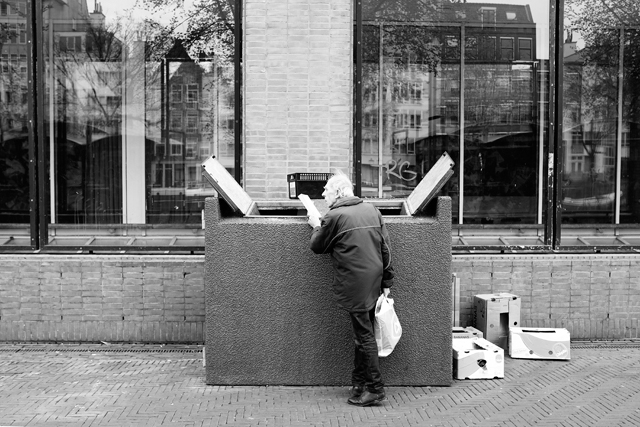 straatfotografie, amsterdam, waterlooplein,  street photography