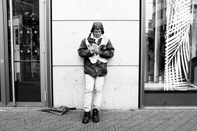 Straatfotografie, Den Haag, Kalvermarkt, Street Photograpy