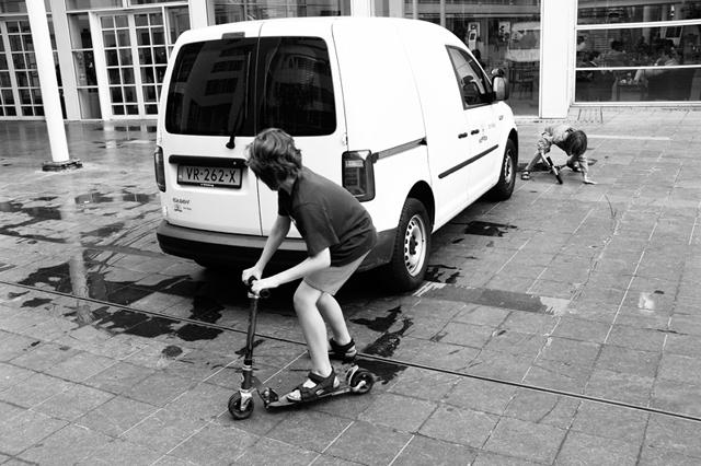 Straatfotografie, Den Haag, Turfmarkt, Street photography