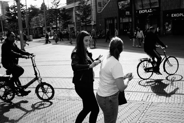 Straatfotografie, Den Haag, Kalvermartk, Streetphotography