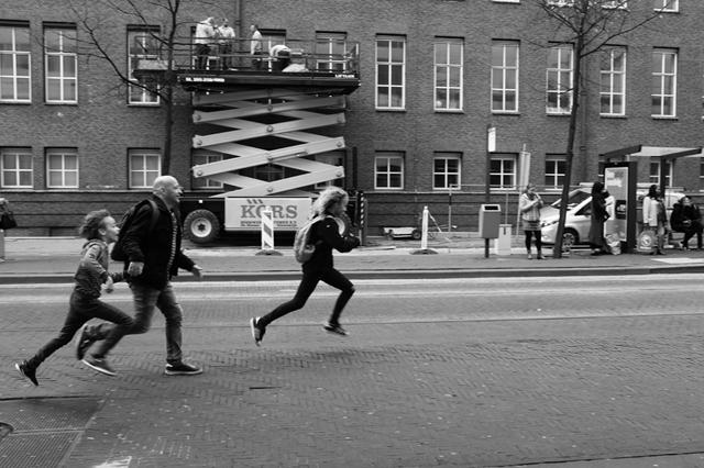 Straatfotografie, Den Haag, Kalvermarkt, Streetphotography