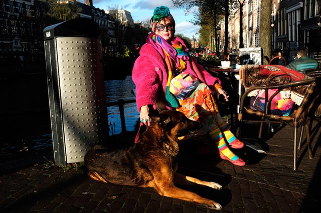 straatfotografie, straatportret amsterdam