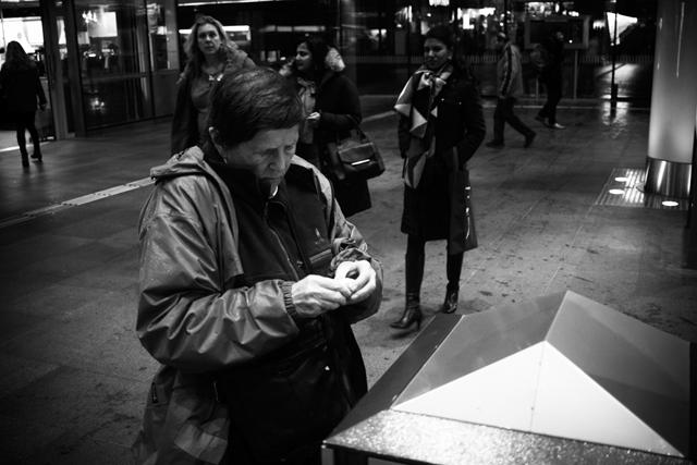 Straatfotografie, Den Haag, Centraal Station, Streetphotography