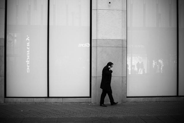 Straatfotografie, Den Haag, grote marktstraat, Streetphotography