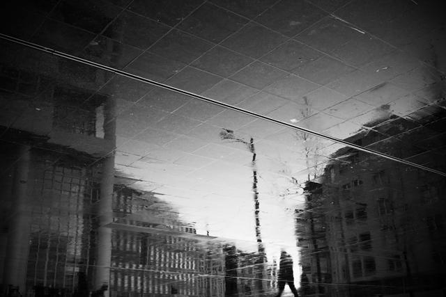 weerspiegeling, Den Haag