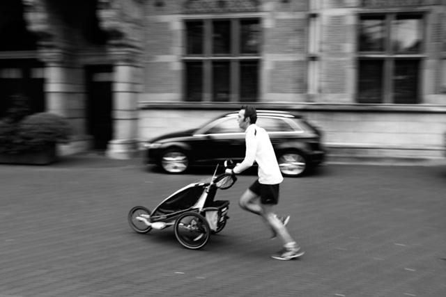 straatfotografie, Den Haag, Plein