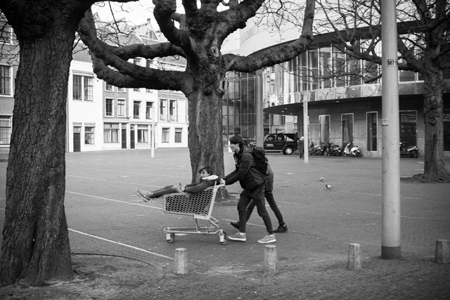 Straatfotografie, Den Haag, Hofplein, Streetphotography
