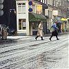hagel, hagelbui, herfst, Utrechtsestraat, amsterdam