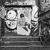 trap, fiets, zenza bronica 6 x 4,5