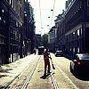 ochtendschoonmaak, amstelstraat, amsterdam