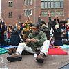 occupy, beursplein, amsterdam, protest