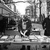 boekenmarkt spui, straatfotografie