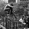 skateboarden, Washington Square Park, New York City, straatfotografie